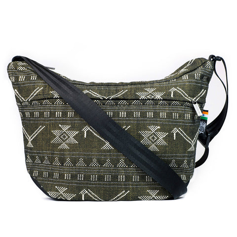 Ethnotek's India 19 Bagan Travel Satchel.