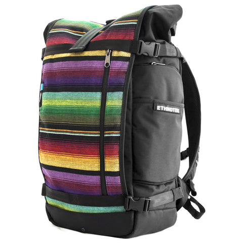 Ethnotek's Guatemala 1 Raja Pack 46L Thread™ attaches to the main pack by Velcro and quick release buckles and can be swapped out with other Thread™