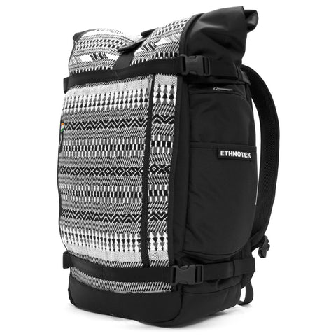 Ethnotek's India 8 Raja Pack 46L Thread™ attaches to the main pack by Velcro and quick release buckles and can be swapped out with other Threads™