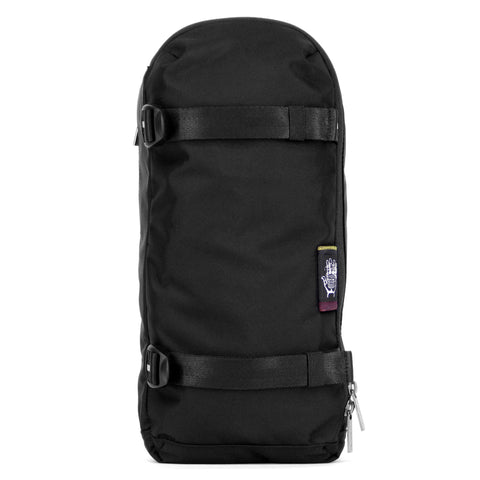 Ballistic Black Jalan Sling Pack, Backpacks, Socially responsible laptop and travel bags by ETHNOTEK