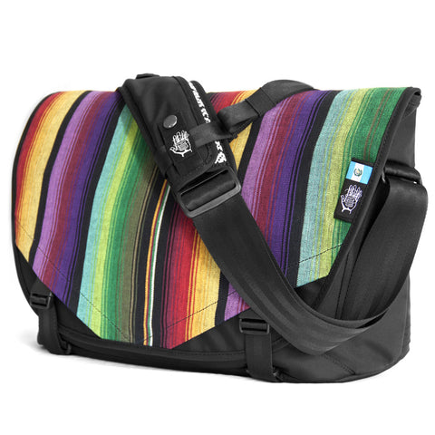 Guatemala 1 Acaat Messenger Bag, Messenger Bags, Socially responsible laptop and travel bags by ETHNOTEK