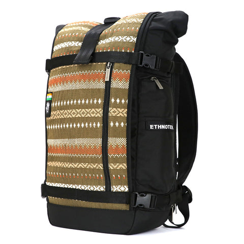 Ethnotek's India 13 Raja Pack 30L Thread attaches to the main pack by Velcro and quick release buckles and can be swapped out with other Threads