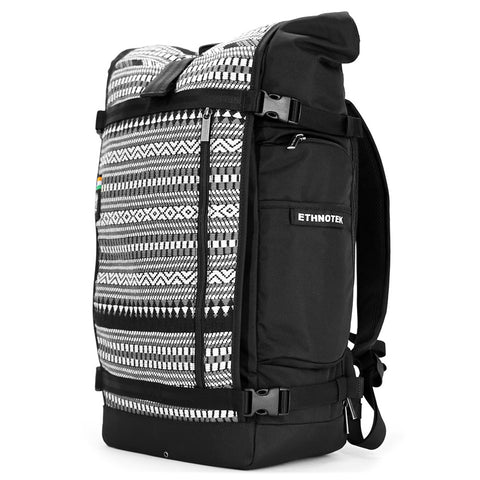 Ethnotek's India 10 Raja Pack 46L Thread™ attaches to the main pack by Velcro and quick release buckles and can be swapped out with other Thread™