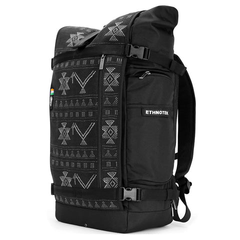 Ethnotek's India 17 Raja Pack 46L Thread™ attaches to the main pack by Velcro and quick release buckles and can be swapped out with other Threads™