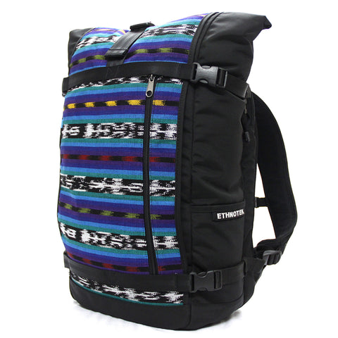 Ethnotek's Guatemala 2 Raja Pack 46L Thread™ attaches to the main pack by Velcro and quick release buckles and can be swapped out with other Threads™