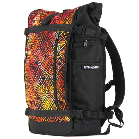 Ethnotek's Indonesia 7 Raja Pack 46L Thread™ attaches to the main pack by Velcro and quick release buckles and can be swapped out with other Threads™