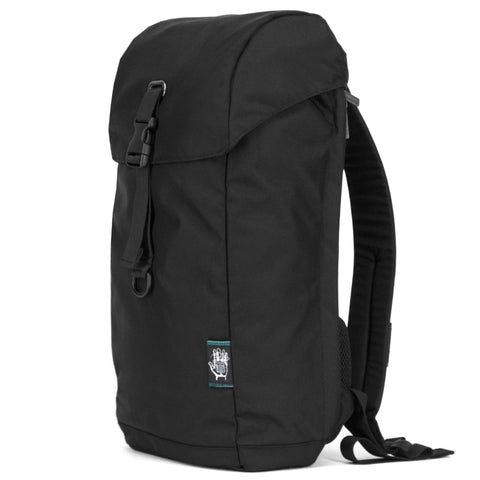 Ballistic Black Setia Backpack, Backpacks, Socially responsible laptop and travel bags by ETHNOTEK
