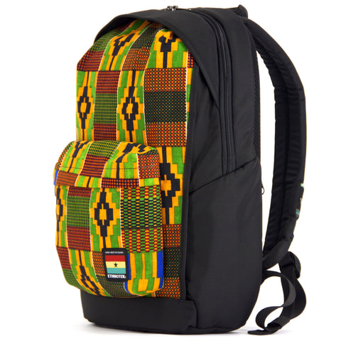 Limited Edition Ghana 17 Wayu Pack, Wayu Pack, Socially responsible laptop and travel bags by ETHNOTEK