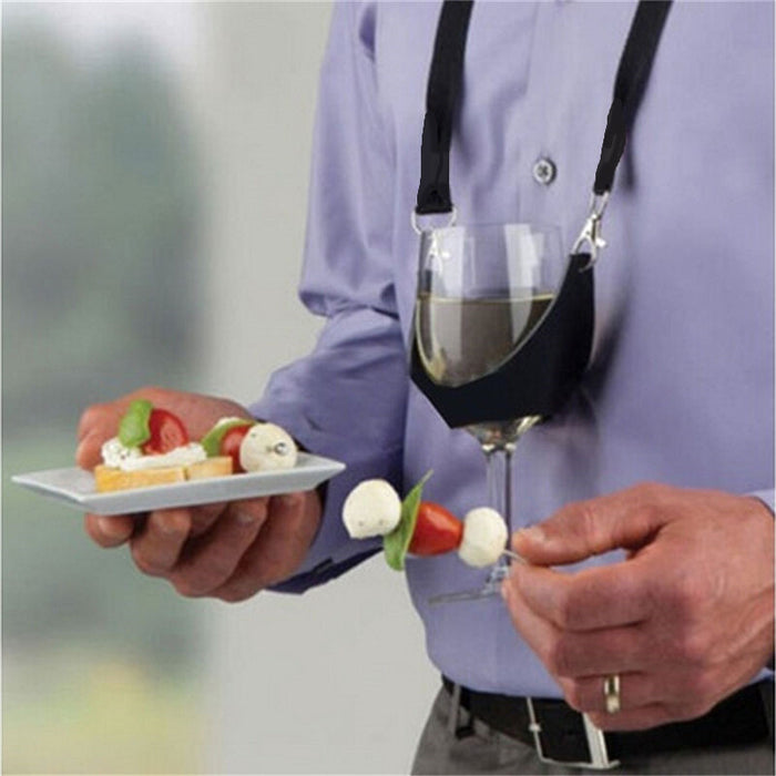 Hands Free Wine Holder