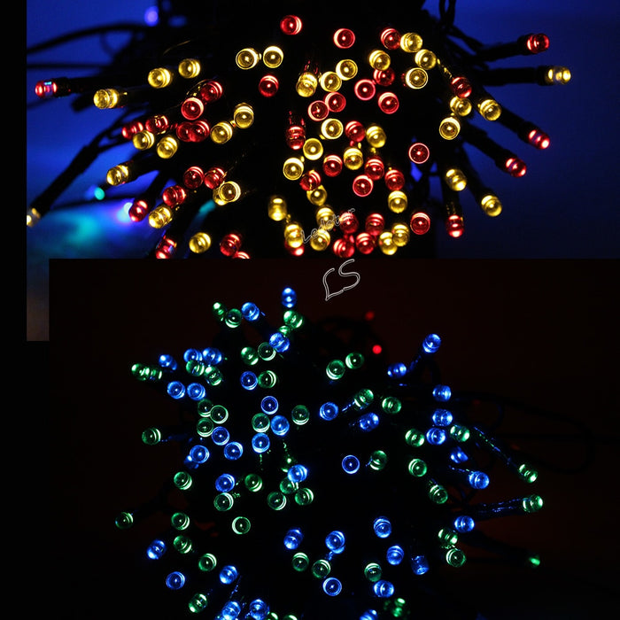 Waterproof LED Solar Fairy Lights - 22 M of 200 Led Lights