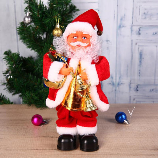 27cm  / 10 inch Singing Dancing Santa Claus Doll