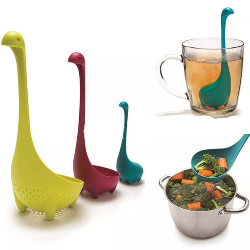 3 pcs Lochness Monster Serving Spoons Ladle
