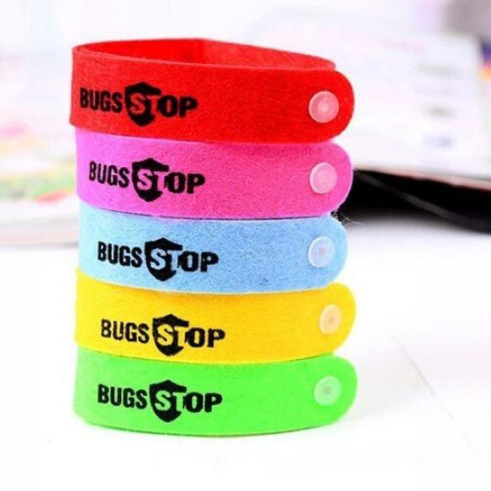 30Pcs Mosquito Insect Repellent Wrist Band Deet Free