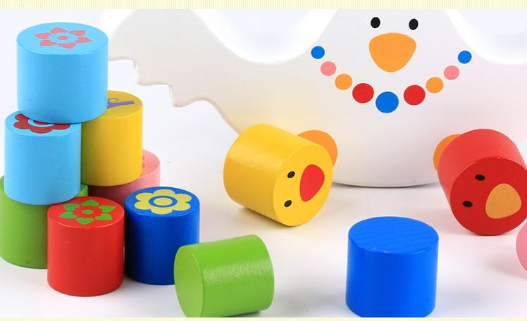 Wooden Toys Balance Blocks