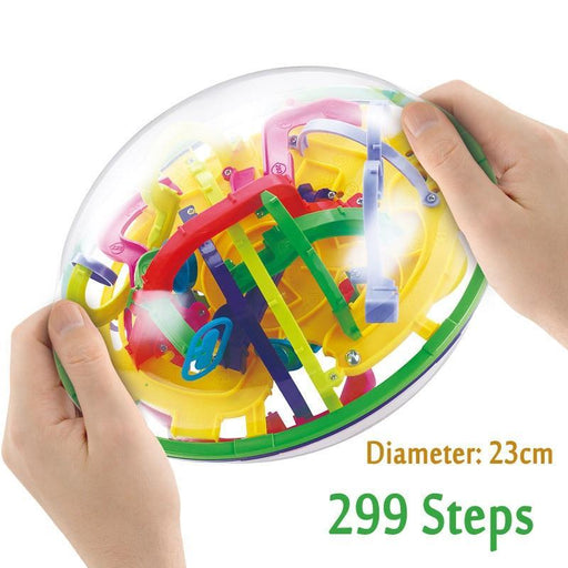 3D Magic Maze Ball
