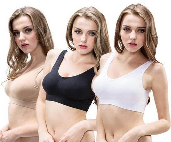 Seamless Wireless Bra