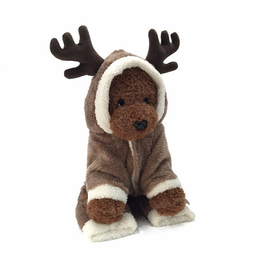 Christmas Dog Clothes-Elk Pet Costume