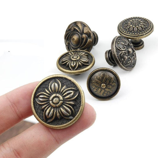Antique Brass Design Knobs