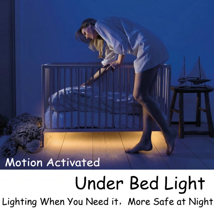 Motion Sensor Under Bed Light