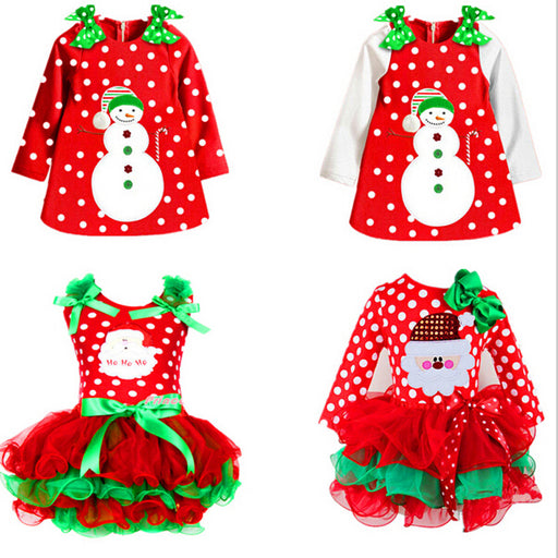 Cute Little Girls Christmas Costume