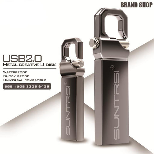 High Speed Metal Waterproof USB Flash Drive