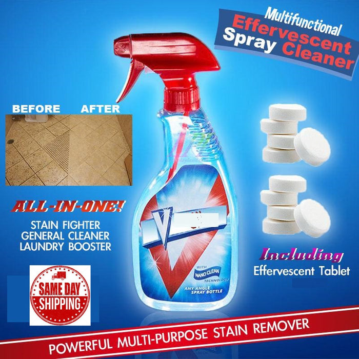 Multipurpose Effervescent Spray Cleaner