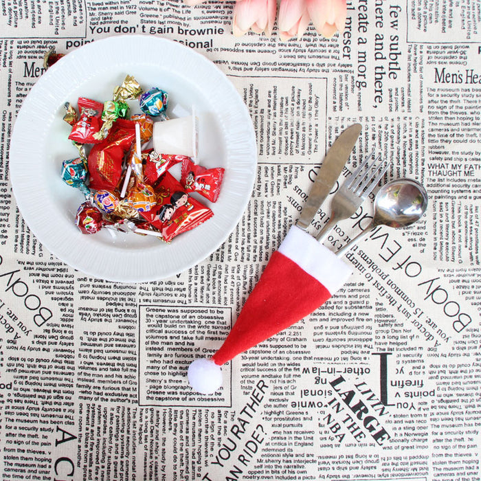 Christmas Hat Creative Tableware
