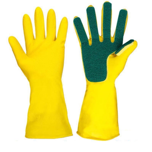 Scrub Sponge Gloves