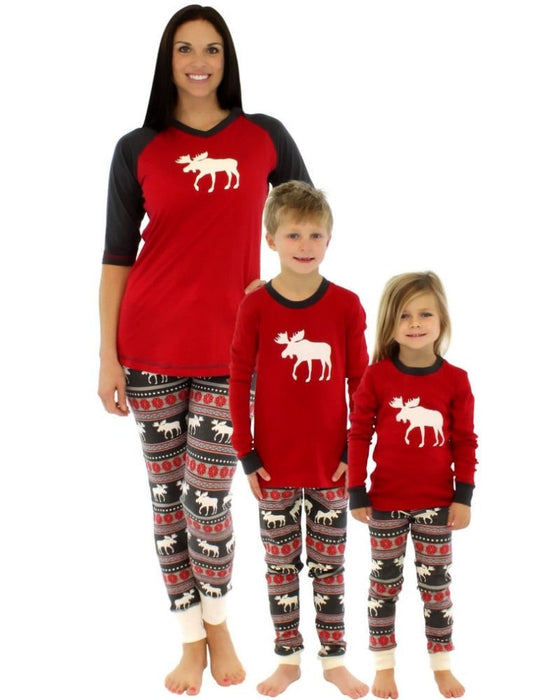 Family Matching Pajamas Set Christmas