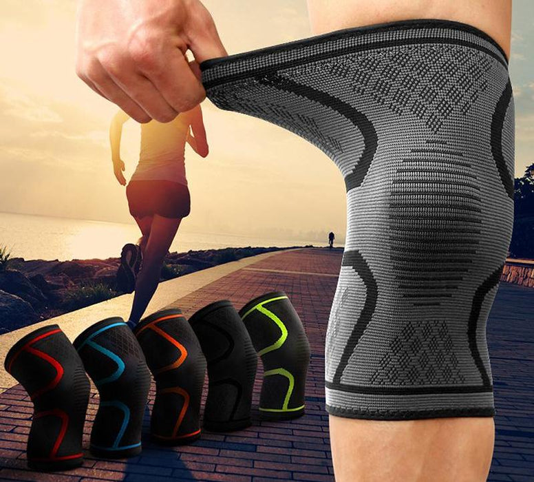 Sport Compression Nylon Knee Support Braces