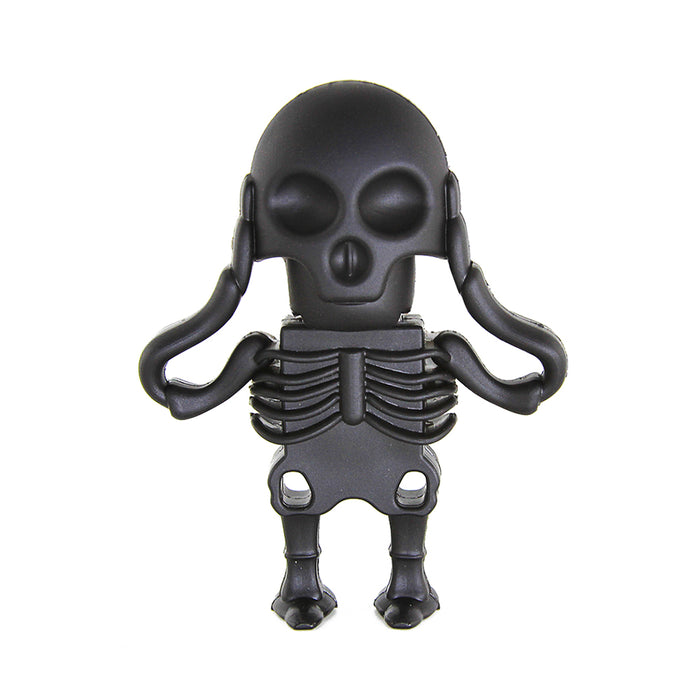 Black Skull Skeleton USB Flash Drive