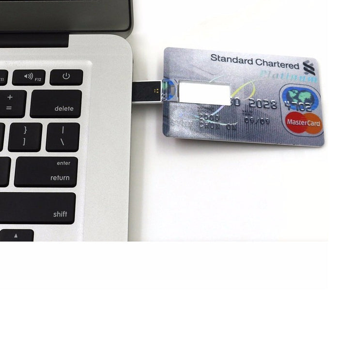 Credit Card Memory Stick Flash Drive