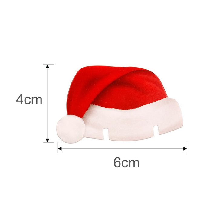 Christmas Santa Hat Place Cards