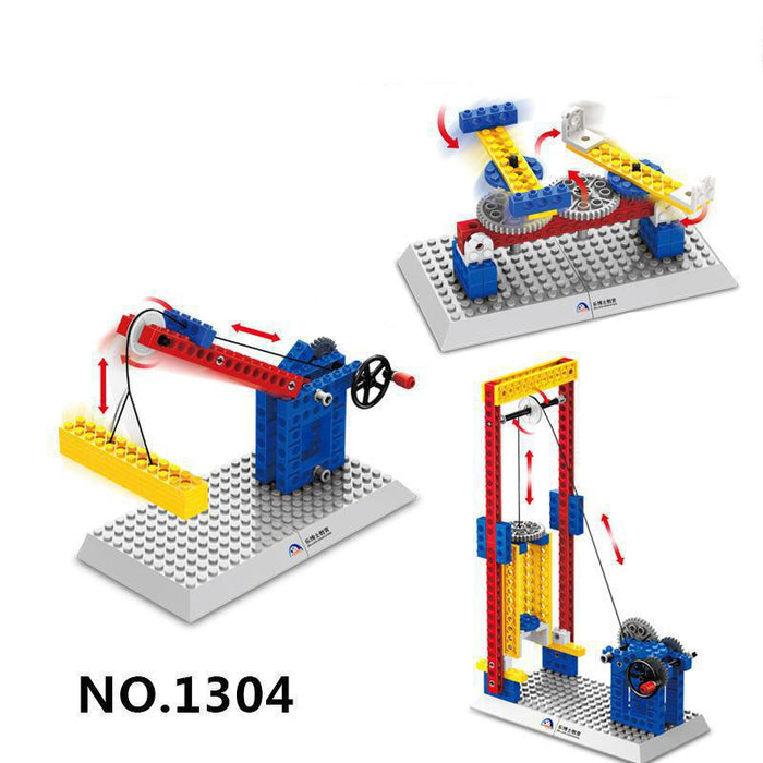3 IN 1 Speed Blocks Engineering Construction Children STEM Toys
