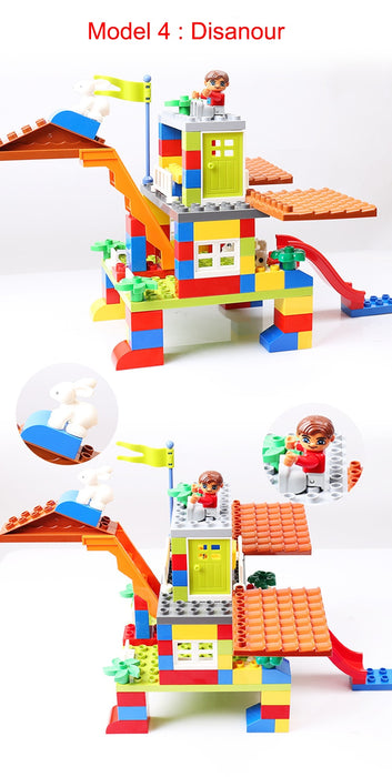 DIY Colored Building Blocks