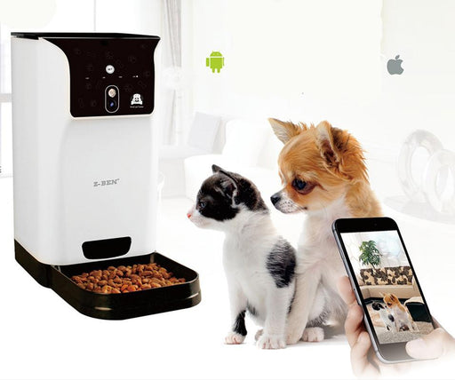 Smart Pet Feeder with Camera