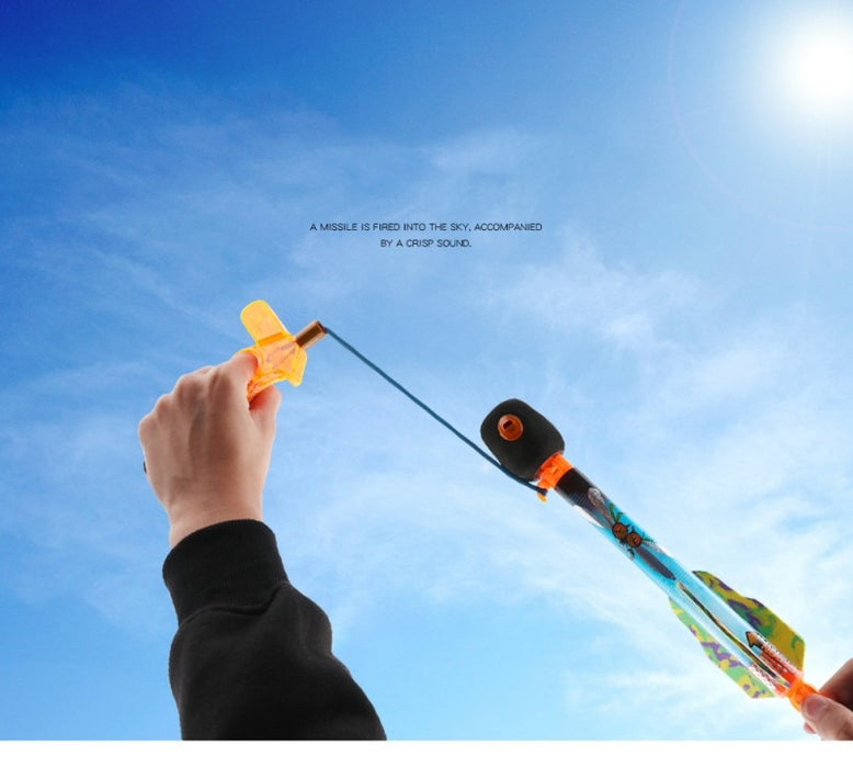 Flying Rocket Toy