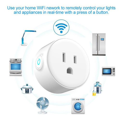 Wi-Fi Remote Control Smart Socket