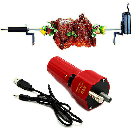 Portable barbecue Rotisserie