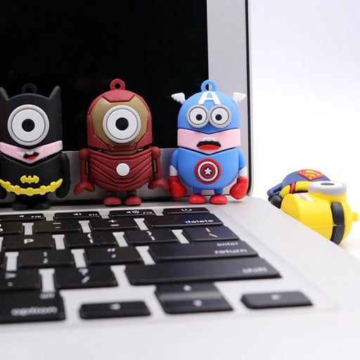 USB Minion Superheroe Flash Drive