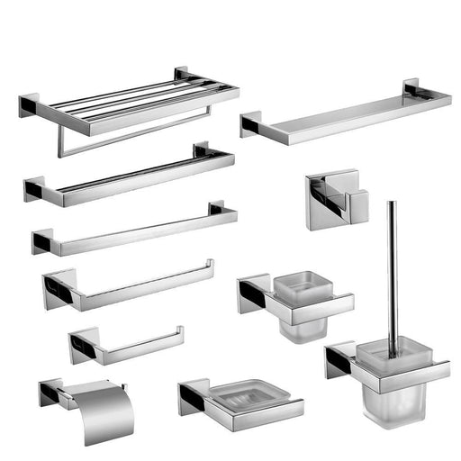 Stainless Steel Chrome Bathroom Accessories Holder