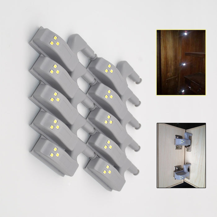 Headline Set Of 10 Led Hinge Lights