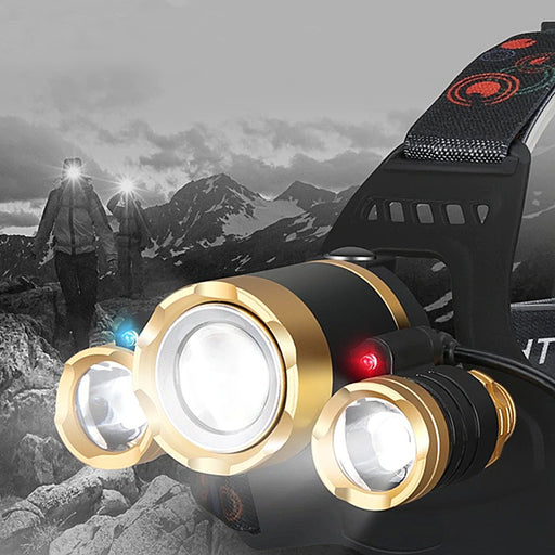 Tactical XML-T6 LED Headlamp
