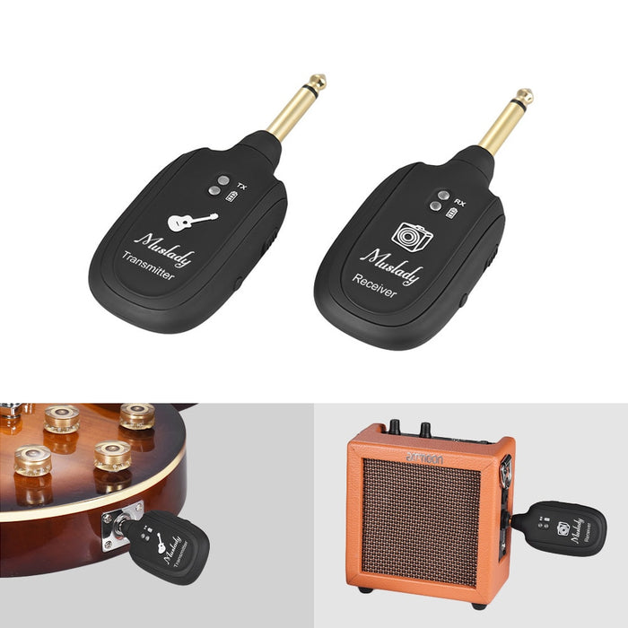 Wireless Audio Transmission Set With Receiver Transmitter