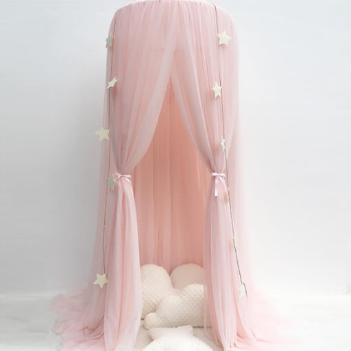 Netting Curtains Canopy Bed