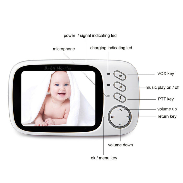 Complete Baby Monitor System