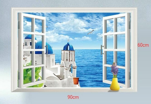 3D Removable Wall Sticker