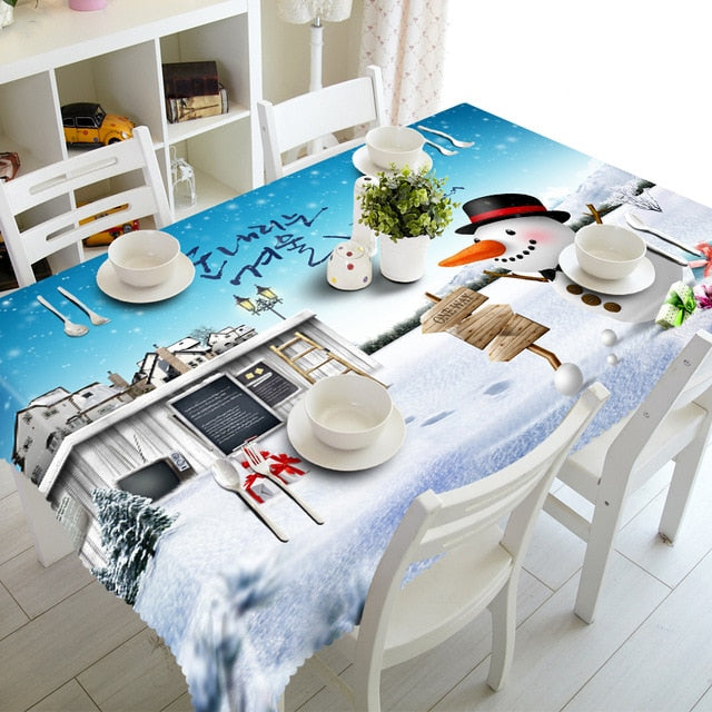 Christmas Dining Table Covers