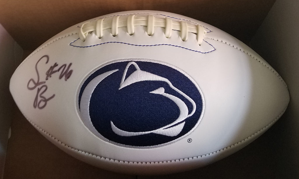 Saquon Barkley Autographed Penn State Football with JSA COA