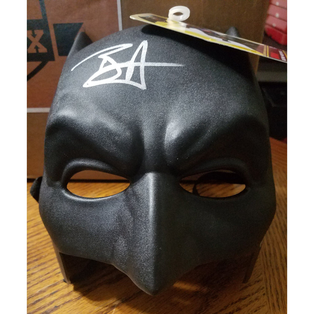 Ben Affleck Autographed Batman Replica Mask w/ COA Batman vs Superman
